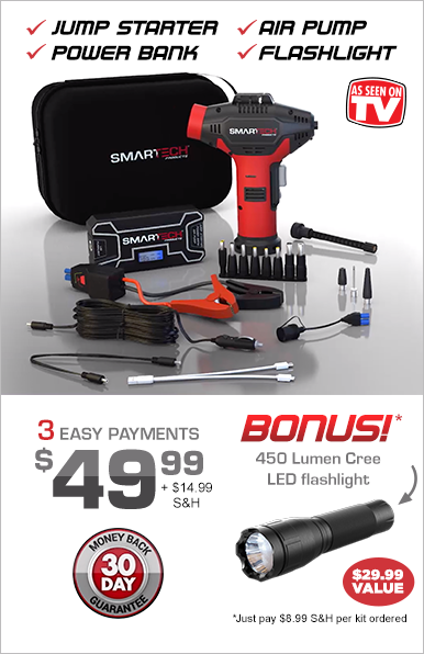 Order SMARTECH® Power Kit Now!